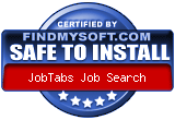 Picture of job search software award from Find My Soft.